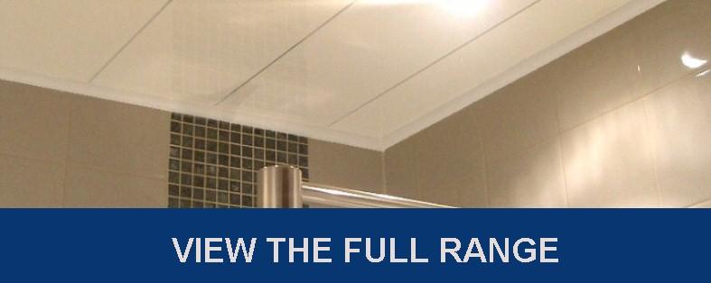 ceiling panel range - Chrome Strip Ceiling Panels