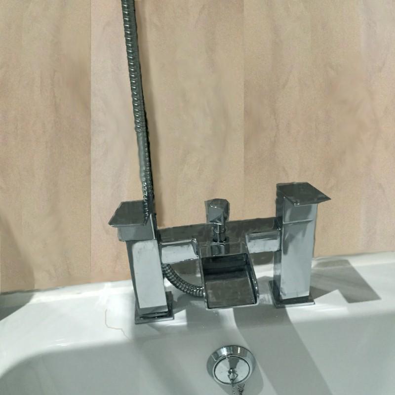 vicenza beige7 800 - Vicenza  - Beige Marble Bathroom Cladding 2.6m