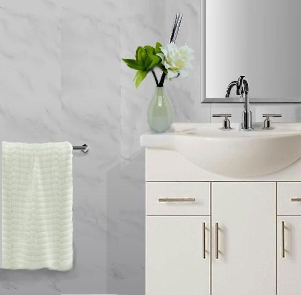 Vicenza grey2 - Vicenza - Grey Marble Bathroom Cladding 2.6m