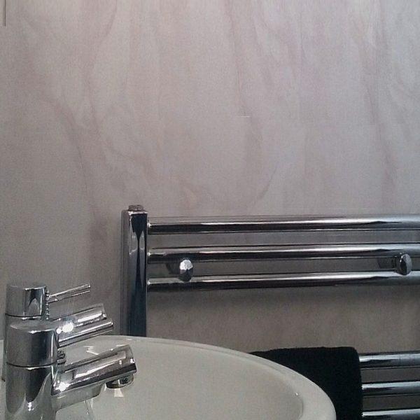Vicenza Grey Marble Bathroom Cladding