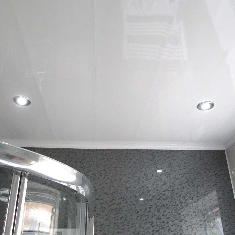 vicenza ultra white ceiling2 - Ceiling Panels  - No Painting, No Flaking, No Mould, No Maintenance