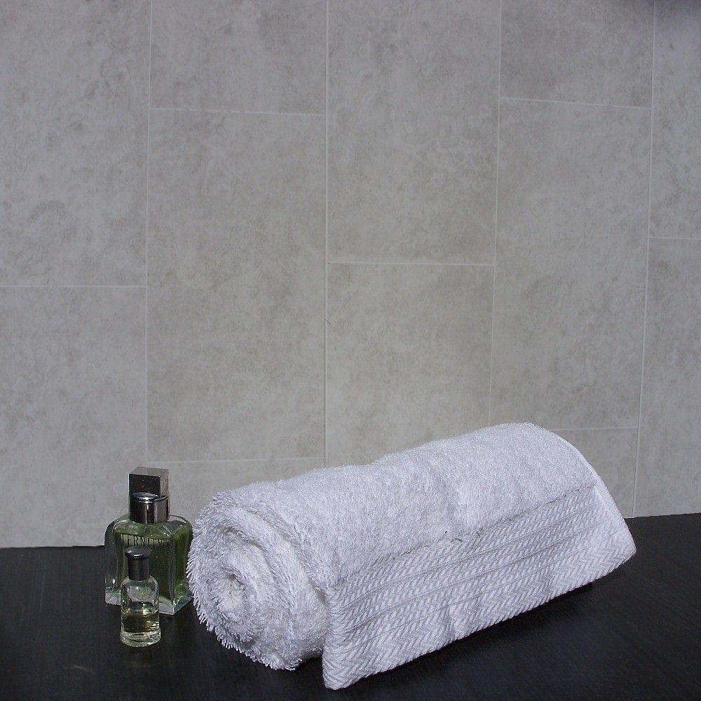florentine grey tile effect3 - Bathroom Wall Panel Designs