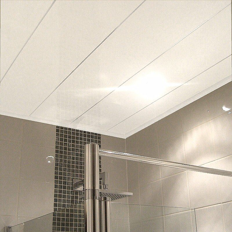 labo ultra white - How To Fit Ceiling Panels