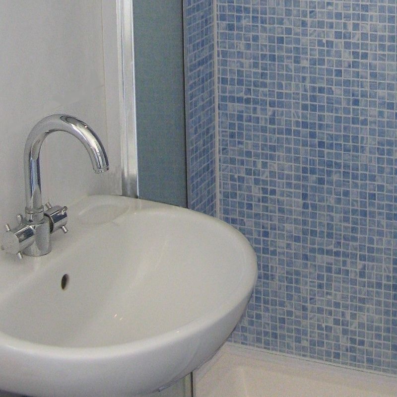 mosaic blue - What Tile Effect Panels Are Available?