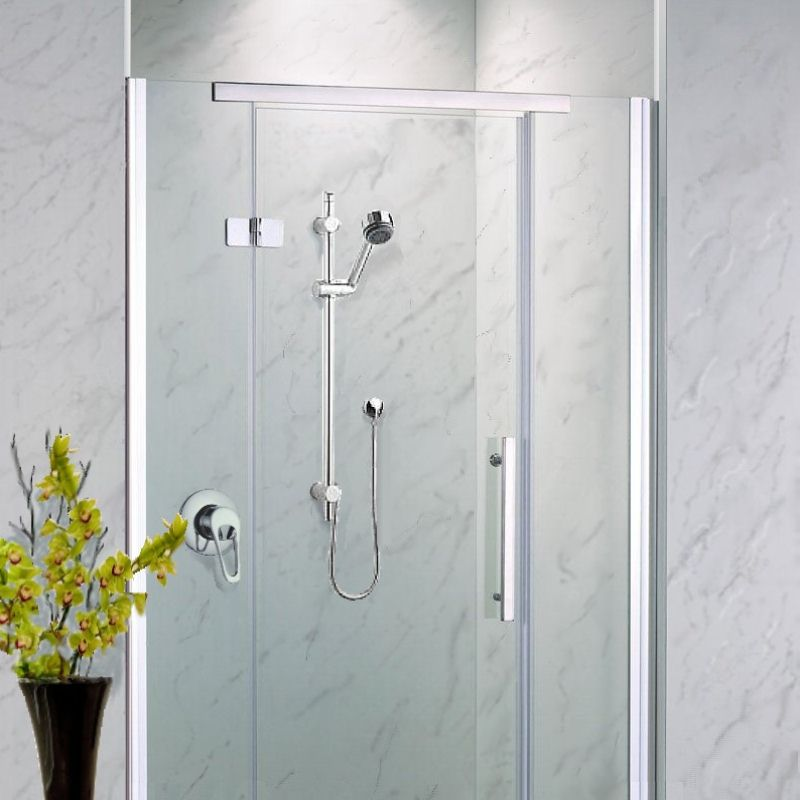neptune grey marble - Shower Wall Panels from The Bathroom Marquee