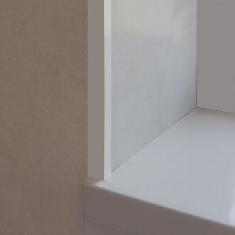 decos angle trim white2 - Decos Trims - White