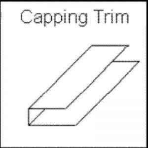 decos capping trim white 300x300 - Panelling Range