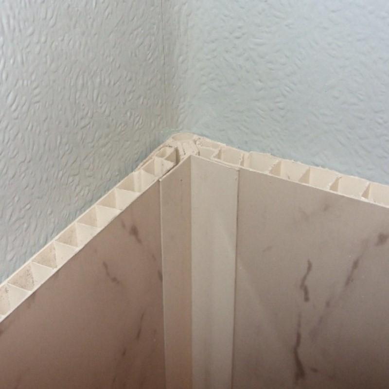 decos corner trim white102 2 - Installation - Using Trims