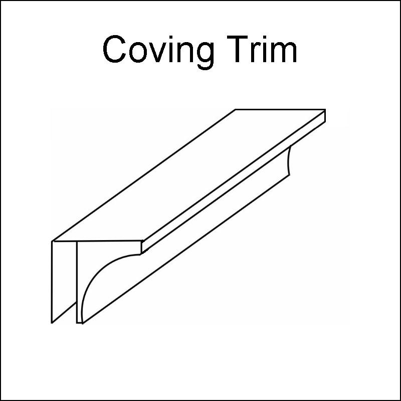 decos coving trim - Decos Coving Trim White