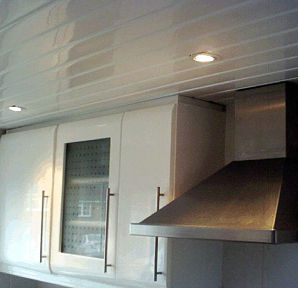 kitchen ceiling cladding3 - Ceiling Panels  - No Painting, No Flaking, No Mould, No Maintenance