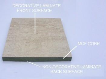 laminate - Laminated Bathroom Wall Panels