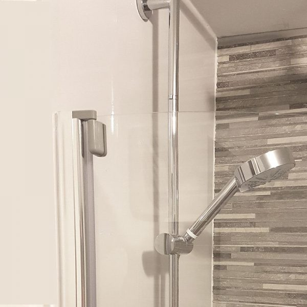 neptune white gloss3 600x600 - Neptune White Gloss Shower Panel