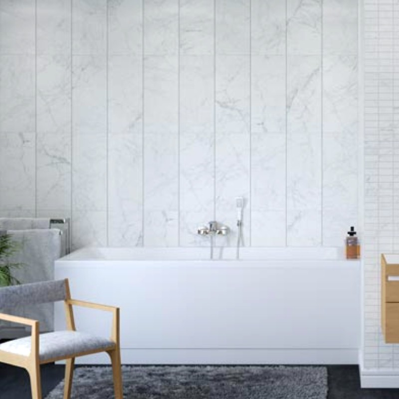 tile effect bathroom cladding - Bathroom Walls - Selecting The Best Product