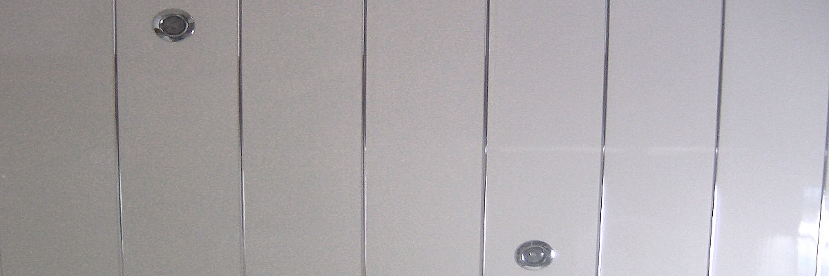 chrome strip ceiling panels - Chrome Strip Ceiling Panels