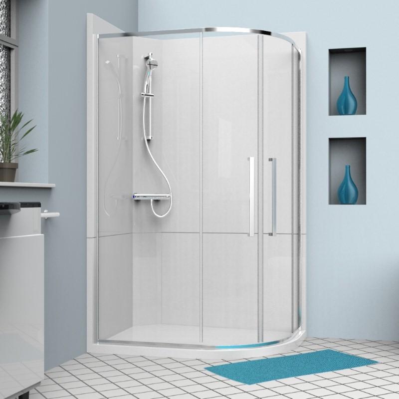 cubicle quadrant 1200 right - Leak-Free Shower Cubicles