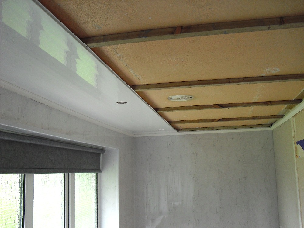 ceiling panel battens2 - Installation - Ceiling Panels With Battens