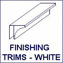 trims white130 - Vicenza White Ash Ceiling Panels 2.6m