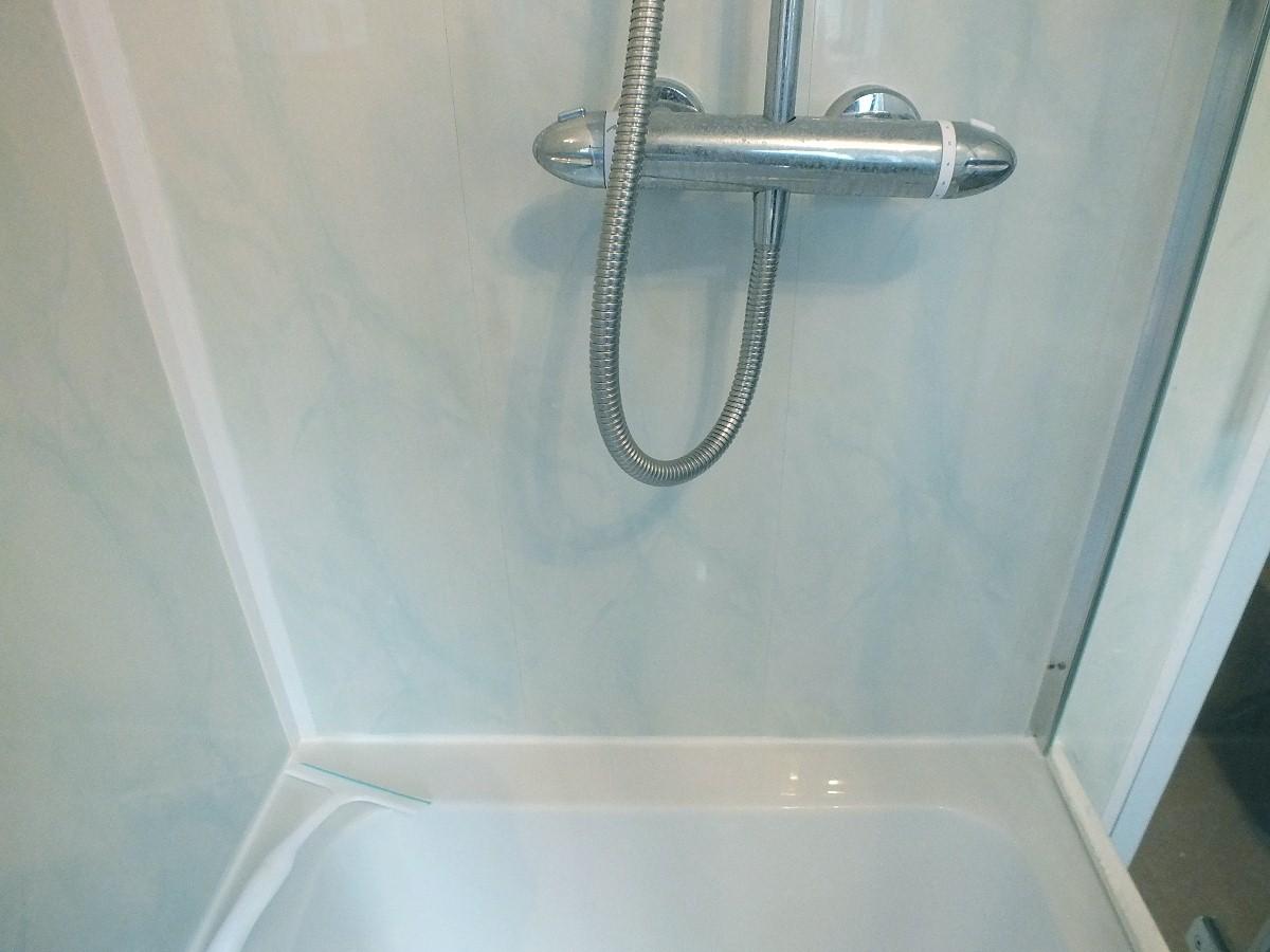 cladding after2 - Bathroom Cladding Trims