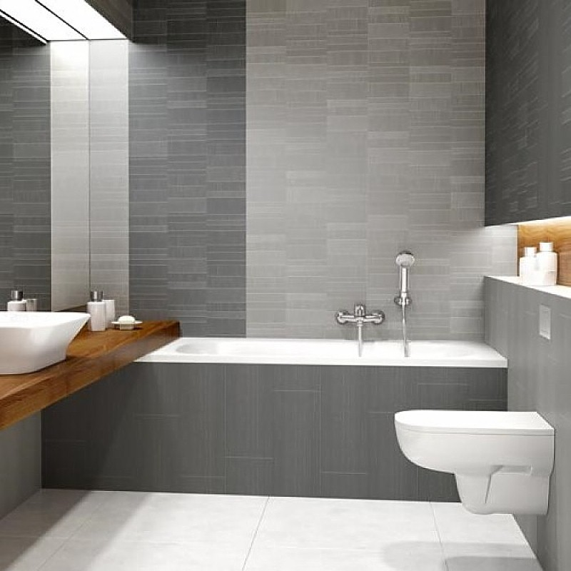 Modern Decor Silver Mosaic Bathroom, Paneling For Bathroom Walls