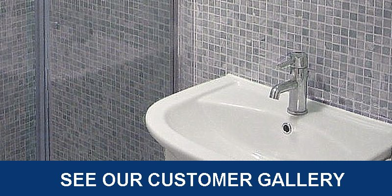 bathroom cladding customer gallery - Bathroom Cladding - Simply The Best Alternative To Tiles
