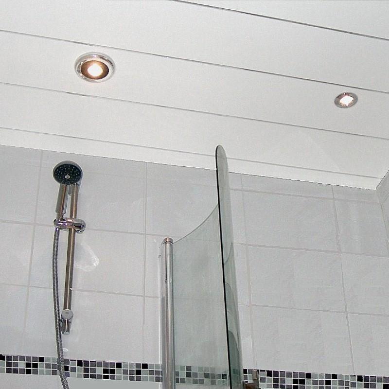 matt white ceiling panels - Bathroom Ceiling Panel Examples