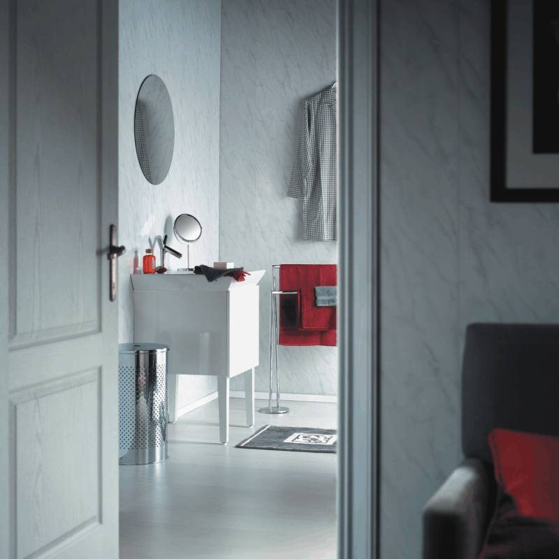 spaceline grey bathroom cladding - Bathroom Cladding - Simply The Best Alternative To Tiles