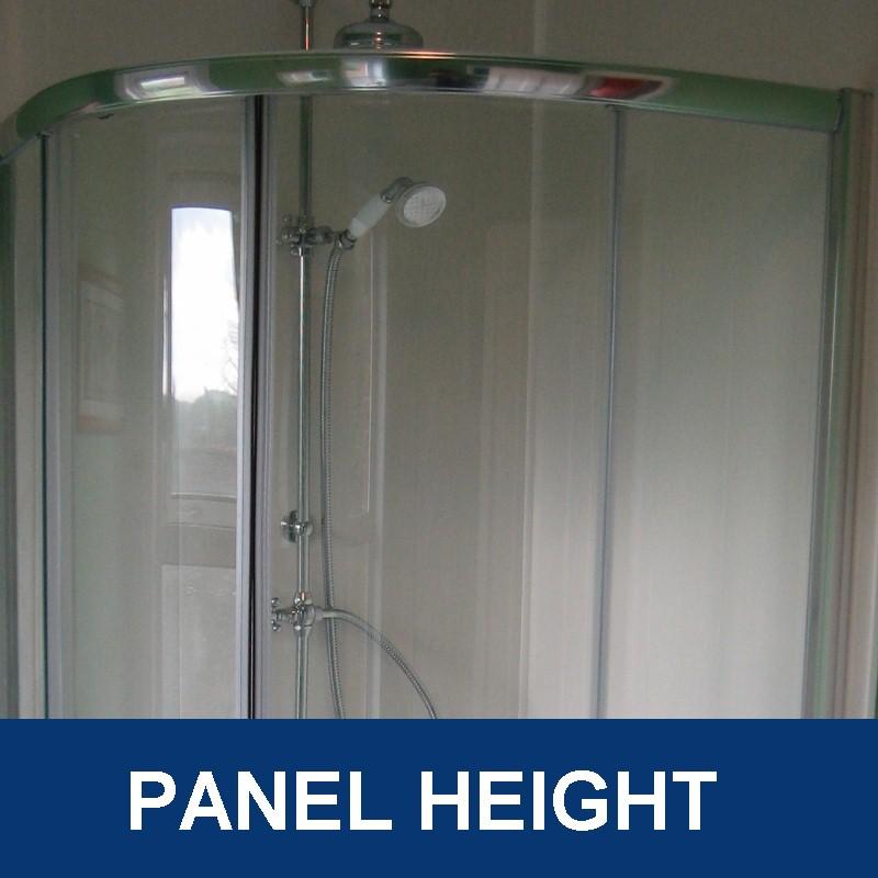 bathroom wall panel height - Bathroom Wall Panel Sizes