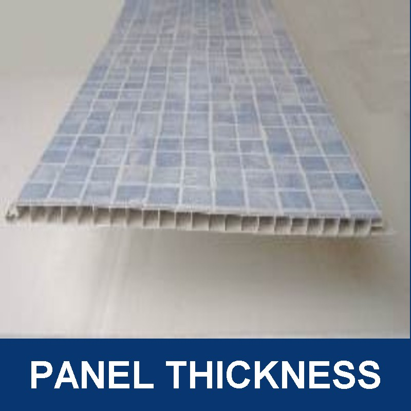 bathroom wall panel thickness - Bathroom Wall Panel Sizes