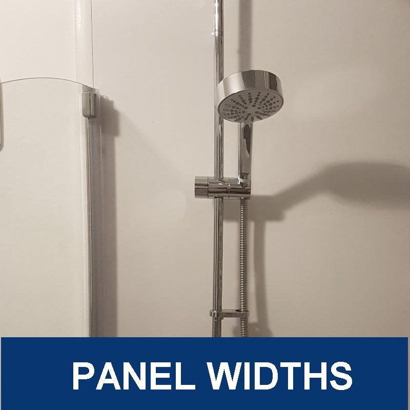 bathroom wall panel widths - Bathroom Wall Panel Sizes