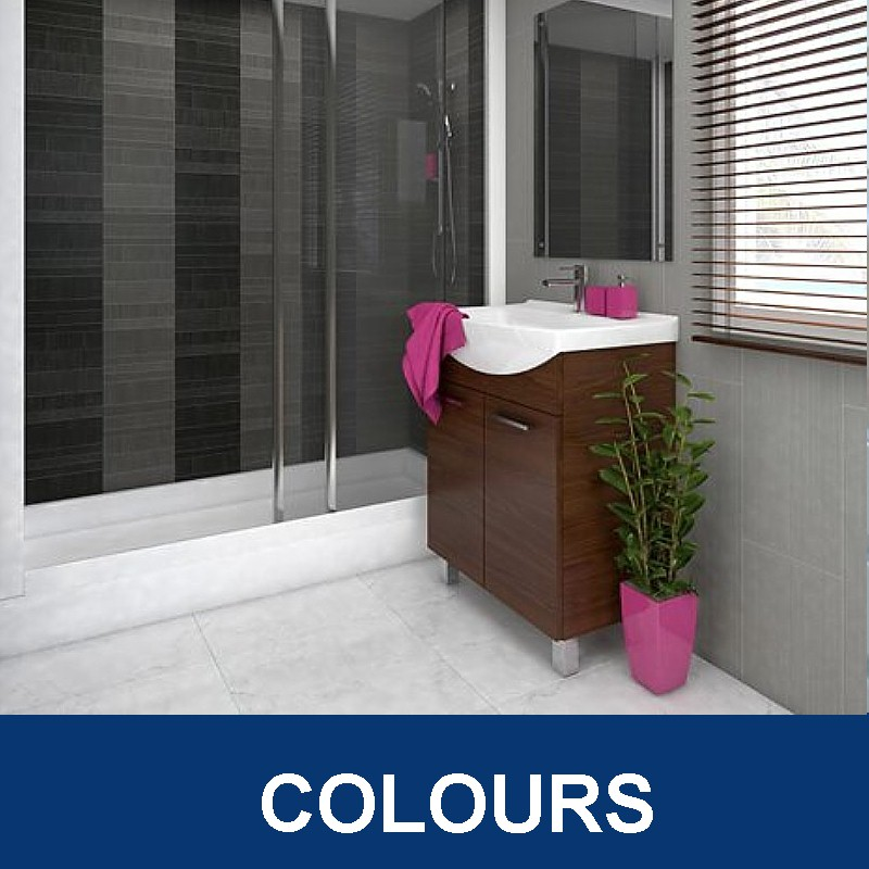 bathroom wall panels colours - Bathroom Wall Panels - The Perfect Alternative To Tiles