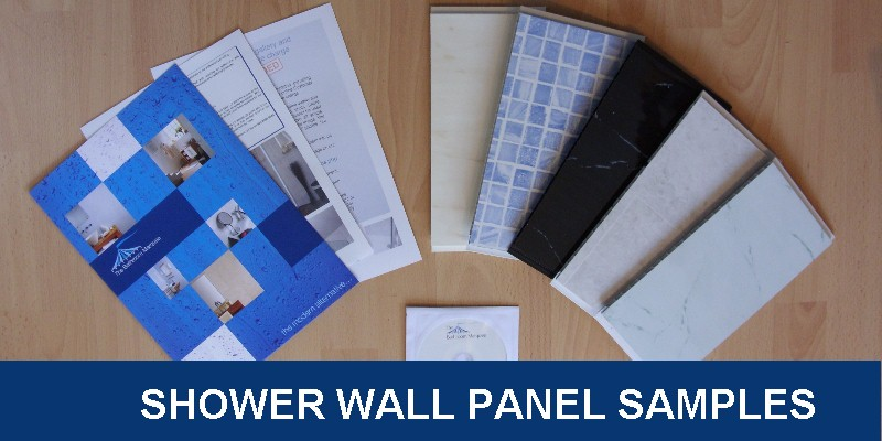 shower wall panel samples - Shower Wall Panels from The Bathroom Marquee