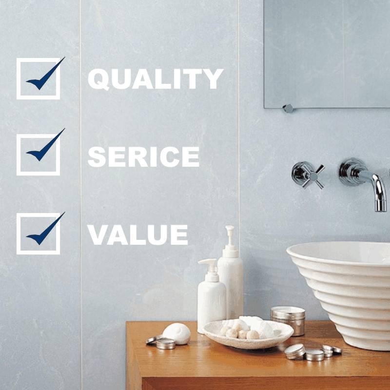 bathroom cladding values - Bathroom Cladding - Simply The Best Alternative To Tiles