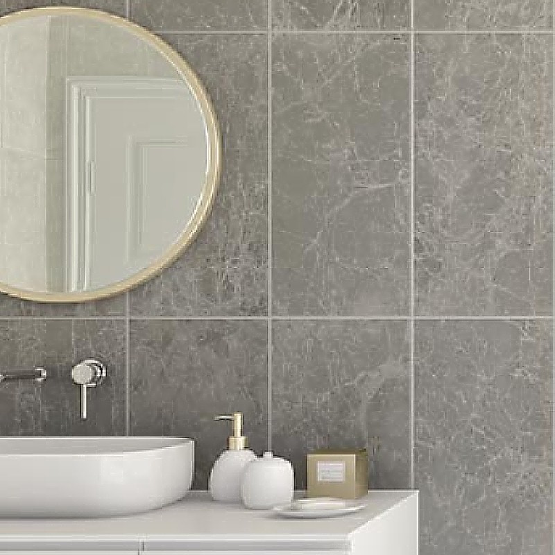 tile effect bathroom wall panels example2 - Can You Panel Over Tiles?