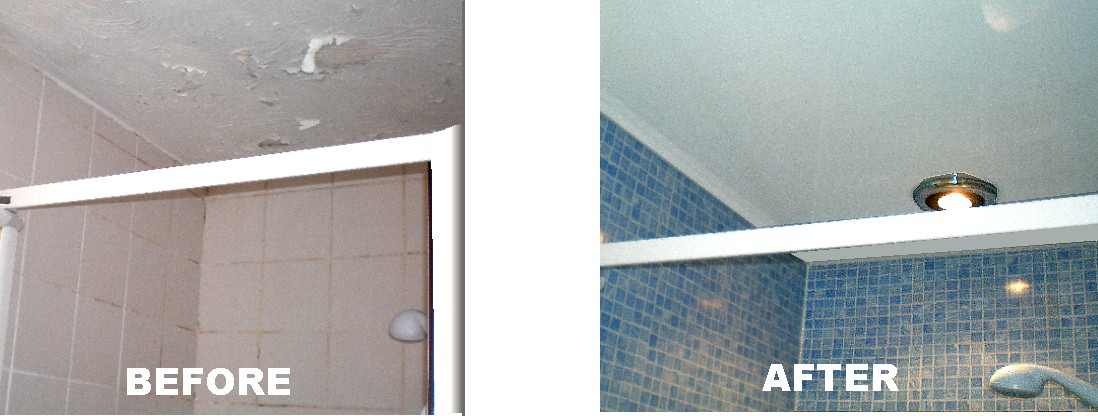 shower problems - Bathroom Ceiling Panel Examples