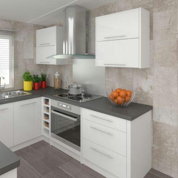 Piedra wall panels kitchen